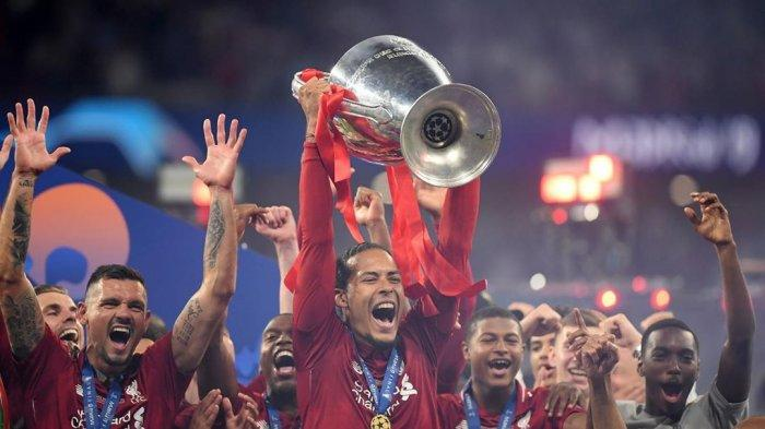 Ekspresi Virgil Van Dijk Setelah Liverpool Menangi Liga Champions 2018/2019