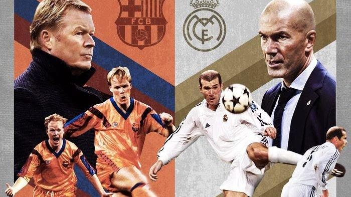 LIVE Streaming Real Madrid vs Barcelona El Clasico Liga Spanyol Malam Ini