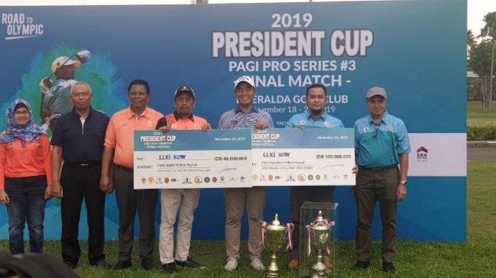 Elki Kow Juara Umum President Cup 2019 PAGI Pro Series