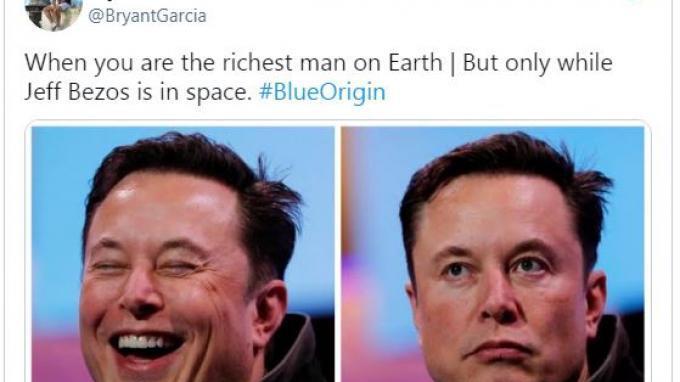 Elon Musk Disebut Jadi Orang Terkaya di Dunia karena Jeff Bezos Sedang ke Luar Angkasa, Ini Faktanya