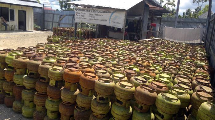 Pengoplos Gas Elpiji di Depok Dibekuk Polisi