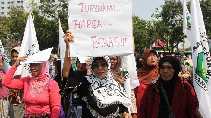 Ibu-ibu yang Demo di Depan Istana Kecewa Tak Diterima Jokowi