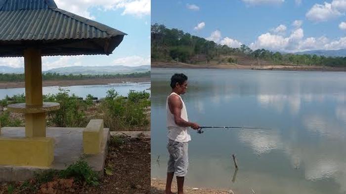 Embung Haekrit di Kabupaten Belu, Tampak Seperti Lautan Padahal Danau Besar Bikinan Manusia