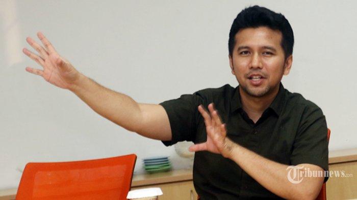 SILATURAHMI - Wakil Gubernur Jawa Timur, Emil Dardak, melakukan kunjungan silaturahmi ke Kantor Redaksi Tribunnews Grup di Jakarta, Sabtu (14/3/2020).