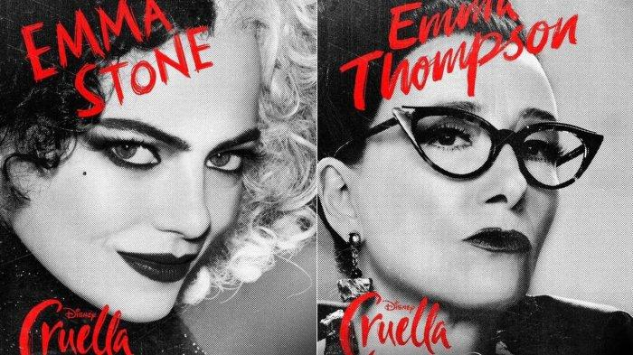Cerita Emma Stone dan Emma Thompson Kesulitan Saat Bintangi Film Cruella