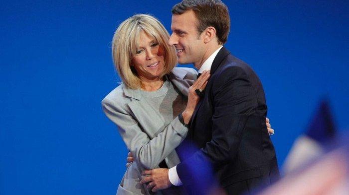 Ditampar Pria Tak Dikenal di Muka Umum, Ini Reaksi Presiden Prancis Emmanuel Macron