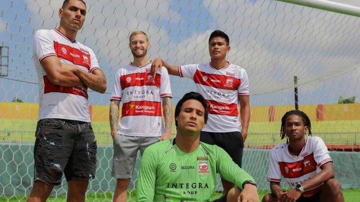 Empat pemain Madura United di BRI Liga 1 2021