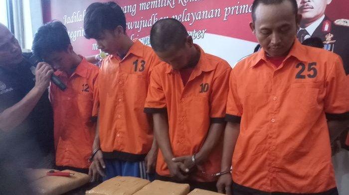Komplotan Pengedar Sabu-sabu Jaringan Madiun-Madura Dibekuk di Tulungagung