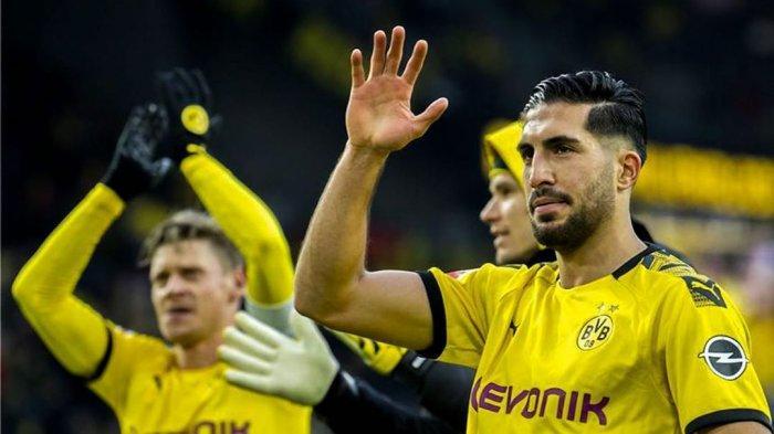 Emre Can, pemain Timnas Jerman yang memperkuat Borussia Dortmund