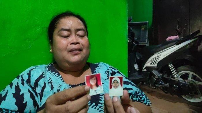 Eni (42), ibunda Devi Sri Mulyati, TKW asal Majalengka yang 10 tahun tidak pulang dari Yordania.