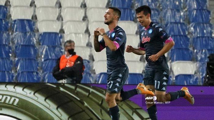 Jadwal Liga Italia Pekan ke-8, Napoli vs AC Milan, Inter Milan vs Torino, Roma vs Parma