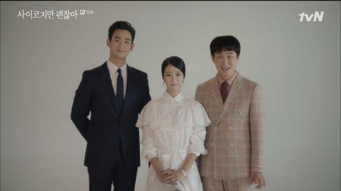 Gang-tae Temukan Amplop Misterius (Kolase Tribunnews/tvN)