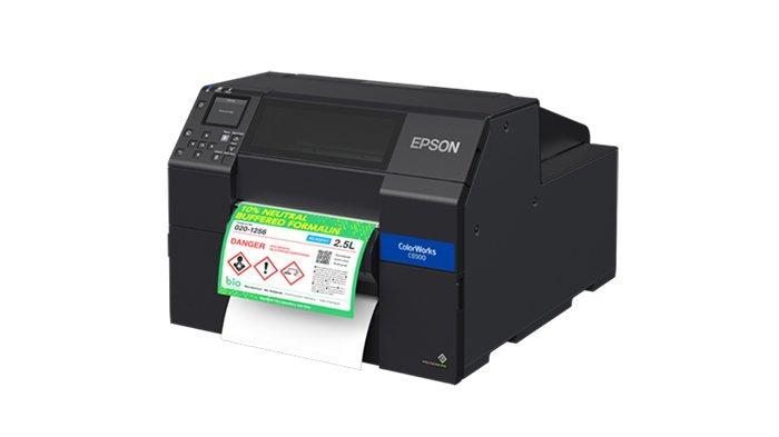 Epson ColorWorks Seri C6050 & C6550, Solusi Printer Label Terbaru Buatan Indonesia