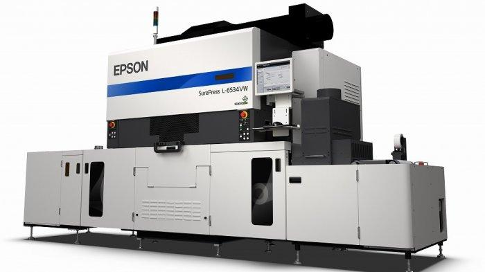 Epson Rilis Printer Label Digital Press SurePress L-6534VW, Ini Keunggulannya