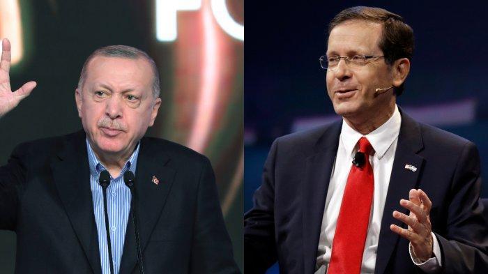 Kerap Bersitegang, Presiden Turki Erdogan Bahas Kerja Sama Via Telepon dengan Israel