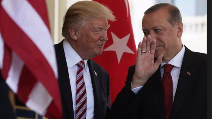 Kata Trump ke Erdogan : Beli Rudal S-400 dari Rusia Itu Bermasalah