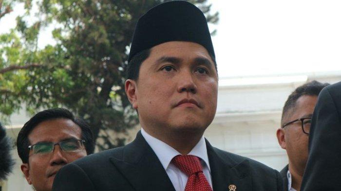 Menteri BUMN, Erick Thohir