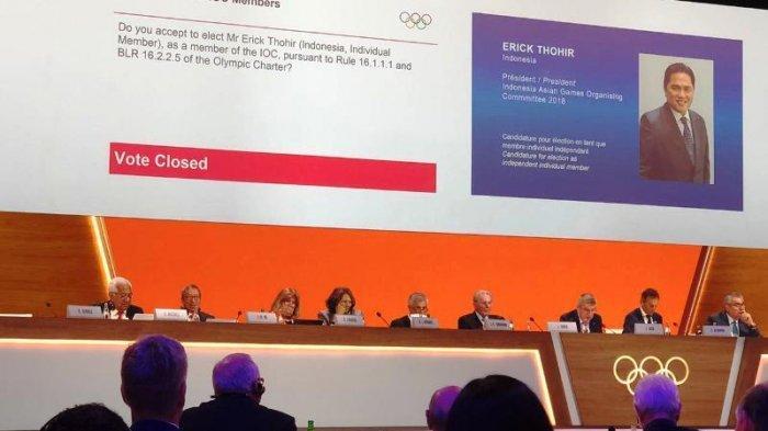Erick Thohir Catatkan Prestasi Olahraga Indonesia dengan Menjadi Anggota Baru IOC Members