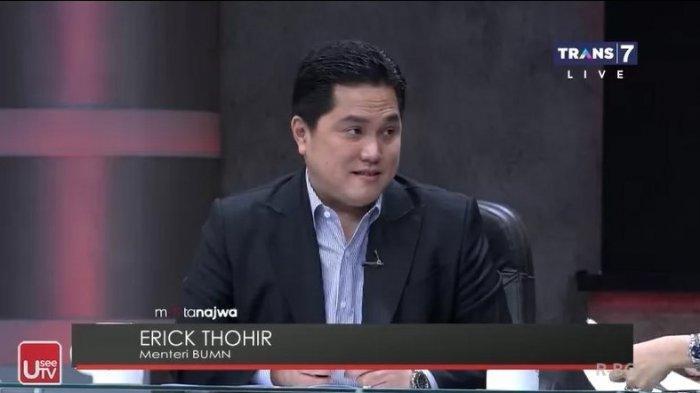 Menteri BUMN, Erick Thohir sebut selama menjabat harus berani objektif.