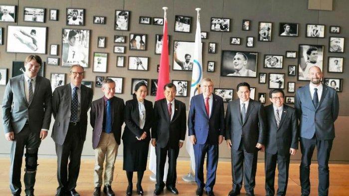 Penentuan Indonesia Masuk CalonTuan Rumah Olimpiade Diputuskan di Sidang IOC Tahun 2024 kata Erick