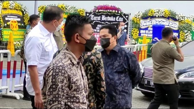 Menkominfo, Menteri BUMN dan Ketua KPK Melayat Mendiang Istri Menteri Yasonna Laoly