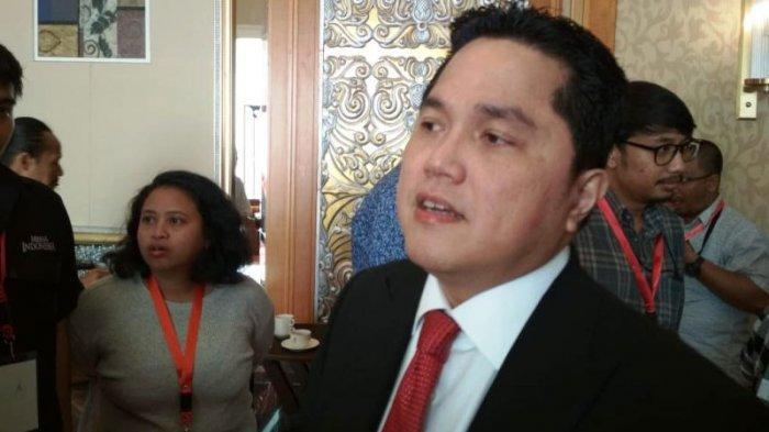 Kagetnya Erick Thohir Mendengar soal Garuda Tauberes Indonesia