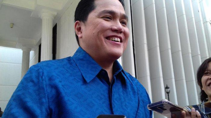 Erick Thohir Apresiasi Kalangan Milenial untuk Turun ke Lapangan Sosialiasi Keberhasilan Pembangunan