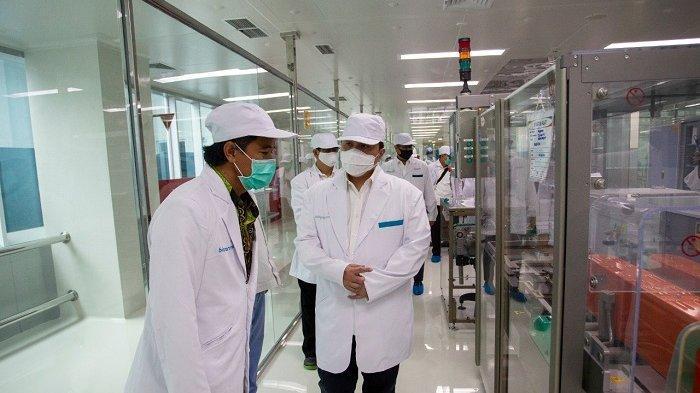 Erick Thohir Pastikan Bio Farma Siap Produksi 250 Juta Dosis Vaksin Covid-19 Per Tahun di Akhir 2020