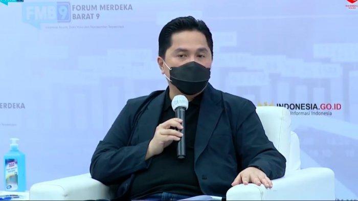 Erick Thohir Tentang Merger Bank BUMN Syariah: Ini Adalah Amanah
