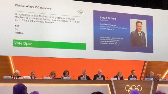 Erick Thohir Diharapkan Perjuangkan Indonesia Sebagai Tuan Rumah Olimpiade 2032