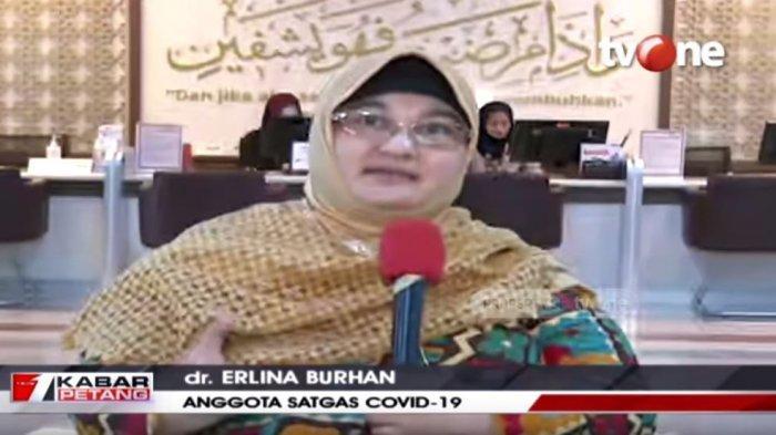 Anggota Satuan Petugas Covid-19, Dokter Erlina Burhan