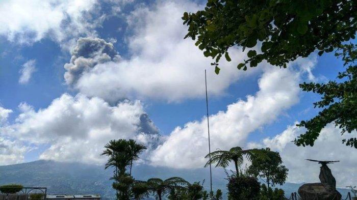 Sebagian Wilayah di Magelang Hujan Abu Pasca Erupsi Gunung Merapi