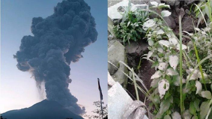 Erupsi Gunung Merapi dan hujan abu