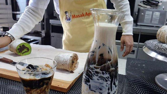 Es Cendol Hitam ala Nicky Tirta, Ada Tambahan Charcoal Powder yang Bisa Buang Racun Dalam Tubuh