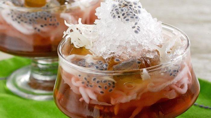 Es Jelly Cincau Kelapa - Cara Membuat Aneka Kreasi Es Cincau, Usir Gerah dan Dahagamu