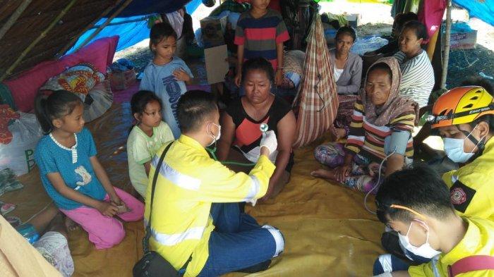 Tim Medis Siaga Bencana ESDM Terus Bergerak, Tangani Lebih dari Dua Ribu Korban Gempa Sulteng
