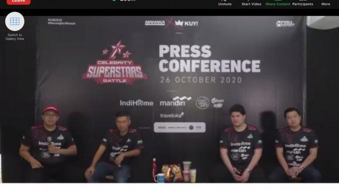 Rafi Ahmad, Baim Wong, Hingga Kevin Sanjaya Adu Skill Mobile Legends di Celebrity Superstars Battle