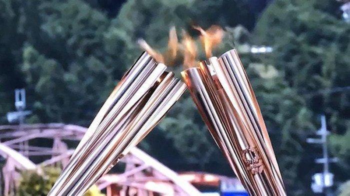 Obor Olimpiade Masuk Tokyo Hanya Disulut dan Dibagikan di Tempat Upacara Kecuali di Pulau-pulau