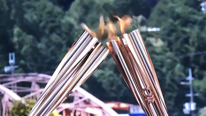 Tur Estafet Obor Olimpiade Jepang di Nara Tetap Berlangsung di Tengah Tingginya Kasus Covid-19
