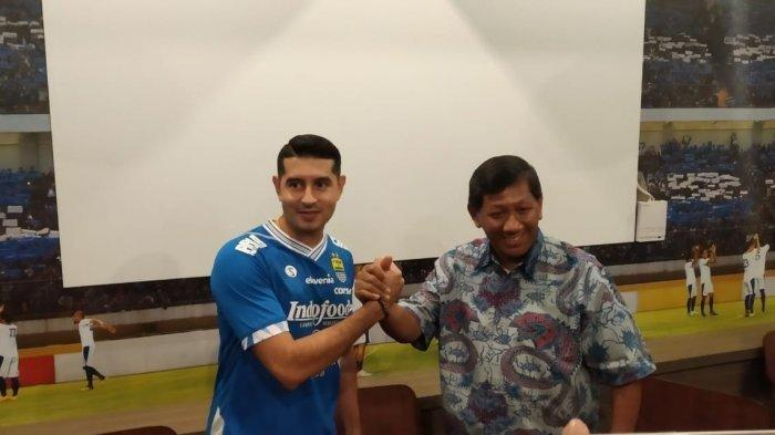 Persib Bandung Siap Hadapi Kompetisi Liga 1 2019 kata Esteban Vizcarra