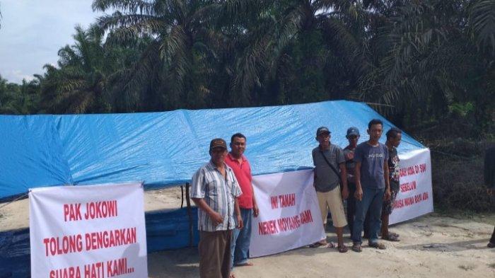 Istana Minta Panglima TNI dan Kapolri Lindungi Petani Sawit Gondai