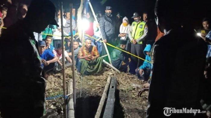 Pria Ditemukan Tewas Dalam Sumur Tua di Sumenep, Korban Sebelumnya Pamit untuk Mengarit Rumput