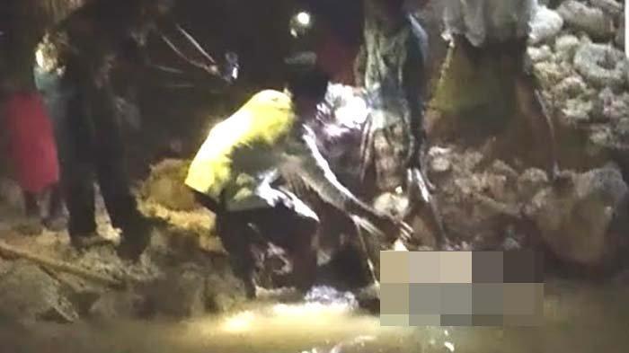 Jasad Pria Pencari Ikan Ditemukan di Kubangan Dekat Tambak Udang