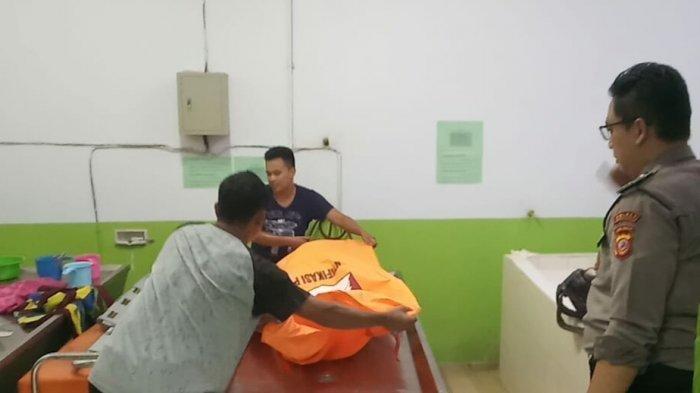 Jasad DS (13) di Kamar Mayat RSU dr Soekardjo, Kota Tasikmalaya, Senin (27/1/2020) sore.
