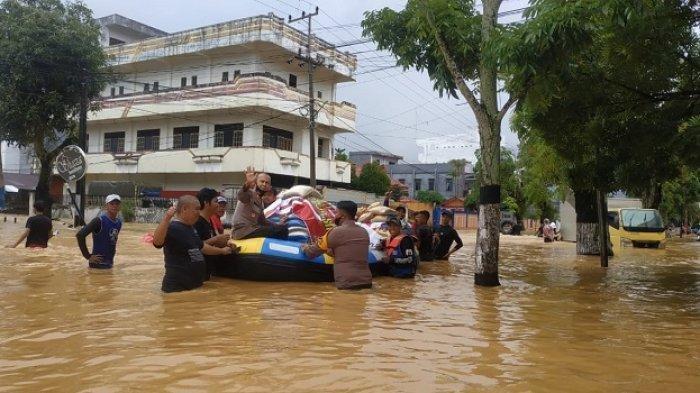 Dua Orang di HST Kalsel Jadi Korban Banjir, Meninggal Dunia karena Lemas dan Kedinginan