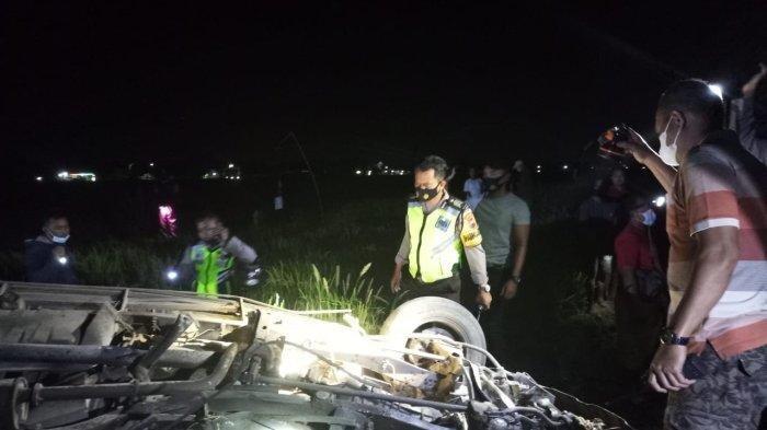 Panther Vs KA Gajayana di Sragen, Menewaskan Pasutri Berusia Lanjut