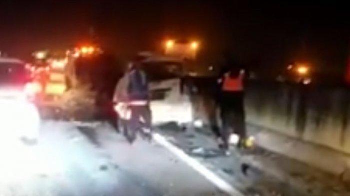 Kecelakaan Beruntun di Tol Tebingtinggi, 2 Orang Tewas
