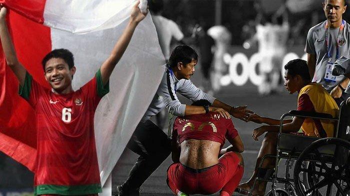 SEA Games 2019 - Sikap Ksatria Evan Dimas kepada Pemain Vietnam yang Mencederainya Jadi Sorotan