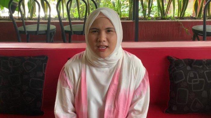 Evelyn Nada Anjani ditemui di kawasan Menteng Jakarta Selatan, Senin (17/5/2021).