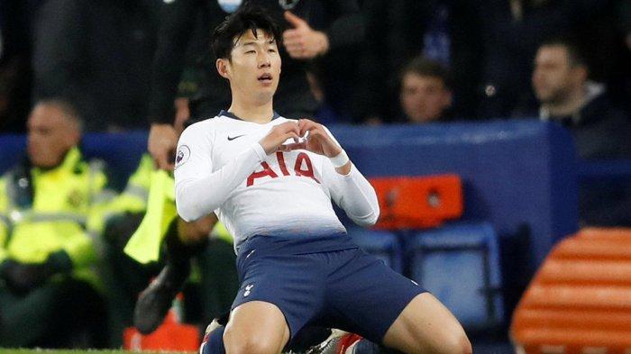 Liga Champions - Makna Selebrasi Menyentuh Hati dari Son Heung-min